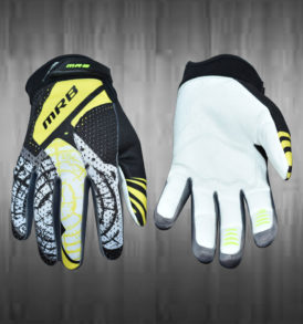Yellow / Grey Motocross Gloves