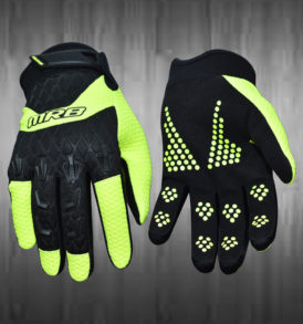 Light Green Motocross Gloves