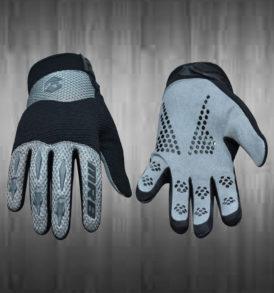 Dark Grey Motocross Gloves