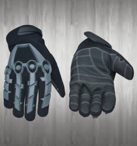 Dark Grey Mechanic Gloves