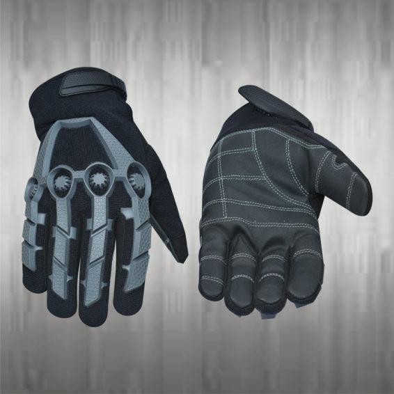 Dark Grey Mechanic Gloves