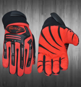 Red Mechanic Gloves