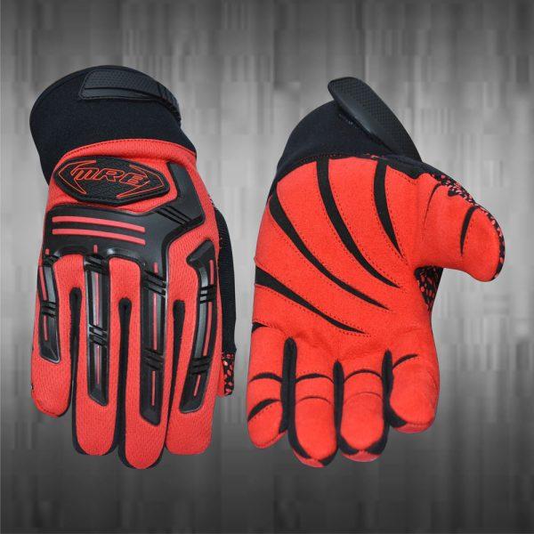 Red Mechanic Gloves