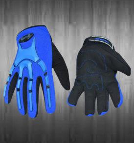 Royal Blue / Black Mechanic Gloves